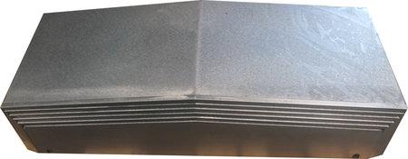 Teleskop Stahlabdeckung für DMC 63 V - X-Achse links
