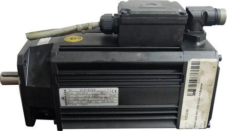 Baumüller Vorschubmotor Typ DSG 56-M mit Bremse
