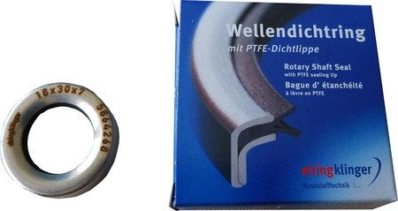 Wellendichtring mit PTFE-Dichtlippe