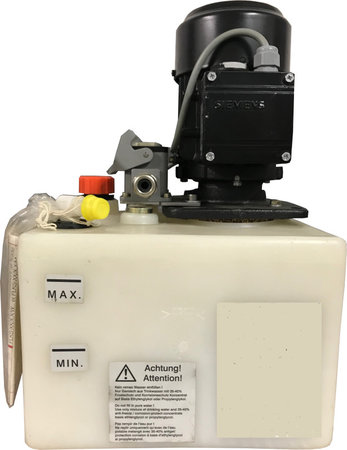 Tank für Kühlaggregat inkl. Pumpe